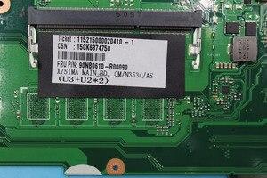 Image 3 - X751MA Ordinateur Portable carte mère N3530 4 noyaux rev2.0 pour For Asus k751M K751MA R752M R752MA X751MD Test carte mère carte mère test 100% ok