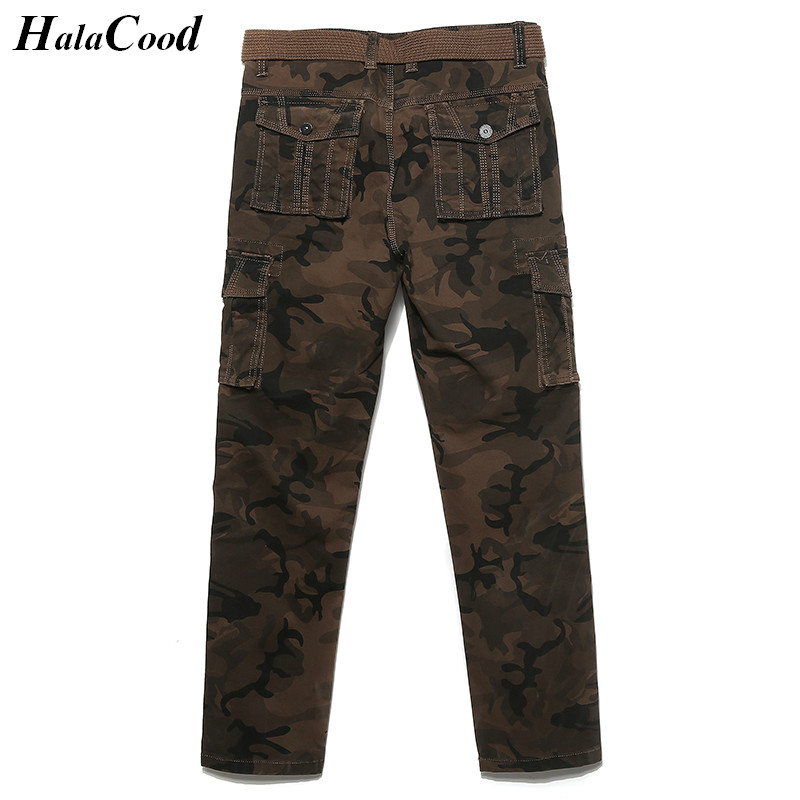 Fashion High Quality Tactical Mens Pants Man Cargo Casual Pants Combat Army Active Military Work Cotton Male Plus Size Trousers