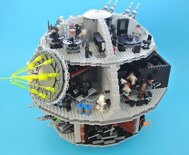 NOUVEAU 3803 pcs Étoile noire ajustement legoings Star wars figures modèle bloc De Construction Briques coupe 10188 Jouets Éducatifs pour enfants garçons cadeaux