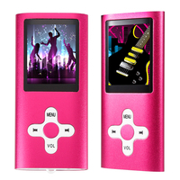 Portable Mini MP3 MP4 Player Music Video 1 8 Inch LCD Screen With Recording FM Radio