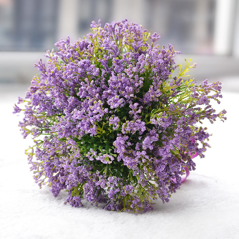 Romantic Green Artificial Flowers Wedding Bouquet 2017 Lavender ...