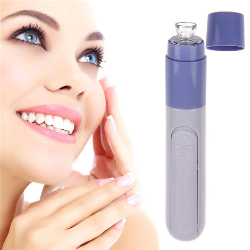 Mini Electric Facial Pore Cleanser Skin Cleaner Ansigt snavs suger op vakuum acne Pimple Tool Remover Blackhead Clean Massage Værktøj