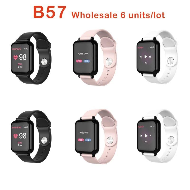 B57 Smart Watch Wristband Waterproof Heart Rate Monitor Blood Pressure Multiple Sport Mode Women Wearable Watch