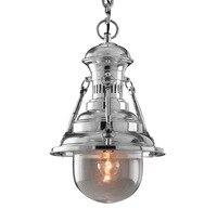 Американский стиль винтажный Роттердамский док подвесной светильник Промышленный светильник Лофт стиль освещение