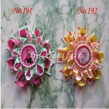 200 BLESSING Good Girl Modern New Style Bird's Nest Hair Bow Clip