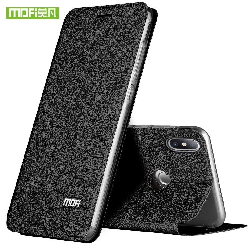 For Xiaomi Mi Mix 2S Case Mi Mix2S Hard Cover Silicone Flip Leather MOFi Original Armor Case for Xiaomi Mi Mix 2S Coque Fundas