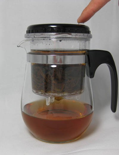 18oz Glass teapot, with filter,500ml Glass cup,easy to use,BP02, Free Shipping