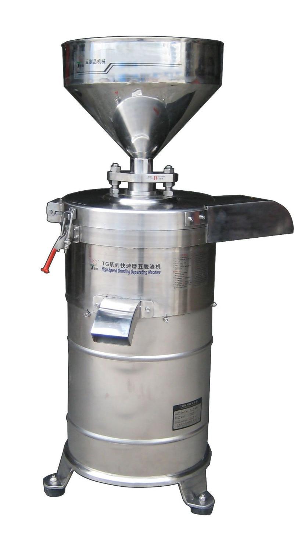 Freies verschiffen 130 Modell automatisch sojamilch grinder milch und schlacke separaten sojamilch schleifmaschine