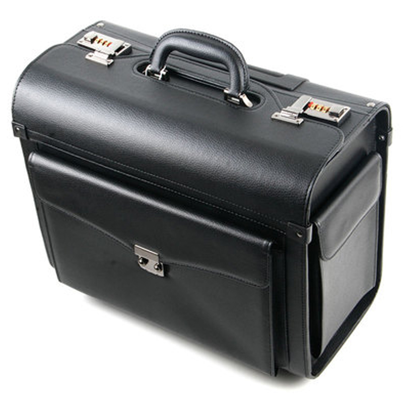 Travel-Bag Suitcase Rolling-Luggage Cabin-Airline Business Trolley Stewardess Pilot Retro