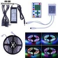 5M 5050 LED RGB Strip Digital Horse Race Dream Magic Color Light Waterproof + IR Controller + 6A Transformer