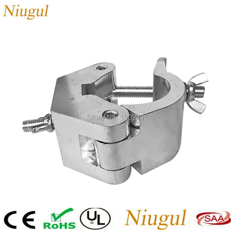 10pcs/lot Big type stage Light Hook stage light clamps Truss fastener for 35-52mm pipe clamp Load 100-400KG mounting heavy light