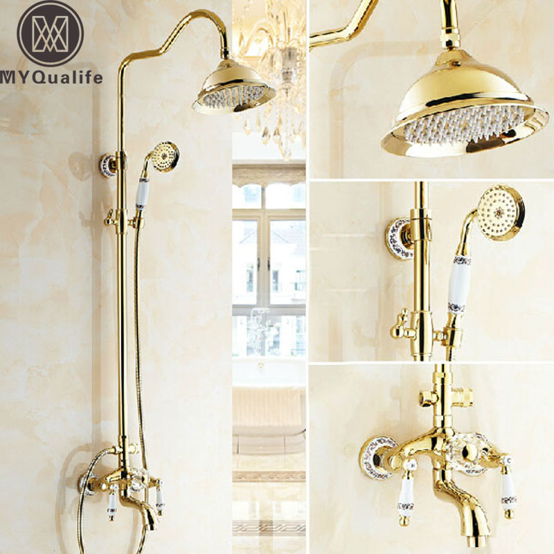 Golden Bathroom 8