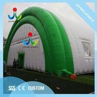 Шатер 20x35 м раздувной с водостойким и огнеупорным, гигантский раздувной шатер для напольного раздувного здания для События Свадьбы