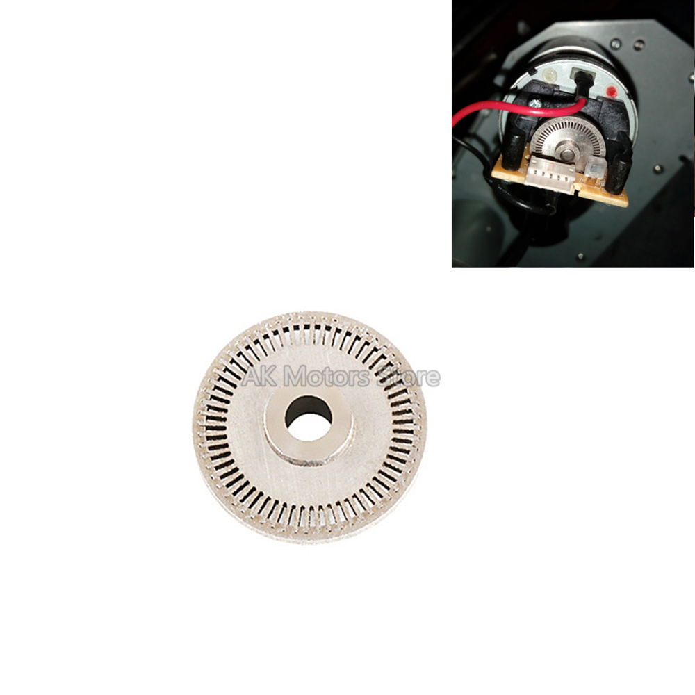 60 Slot Optical Encoder Wheel For Logitech G25 G27 Driving Force GT DFGT Steering Wheels Systems