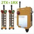 F24 12S (beinhalten 2 sender und 1 empfänger)/12 kanäle 1 Speed Hoist kran fernbedienung wireless crane Uting fernbedienung|remote control|remote control wirelesswireless crane -