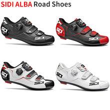 2019 Sidi AlBA yol ayakkabısı Vent karbon yol bisikleti ayakkabı yol kilit ayakkabı bisiklet ayakkabıları