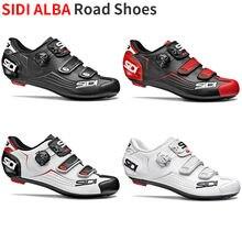 2019 Sidi Alba Road Schoenen Vent Carbon Road Schoenen Road Lock Schoenen Fietsschoenen