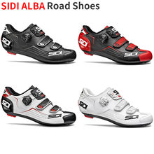 Sidi AlBA zapatos de ciclismo para hombre, calzado de carretera con cierre de carbono, 2019