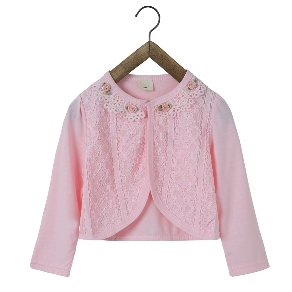 f026c33a9392 RL Baby Girl Outwear Cotton White Baby Jacket Cardigan Sweater for Weddings  2018 Baby Clothes For