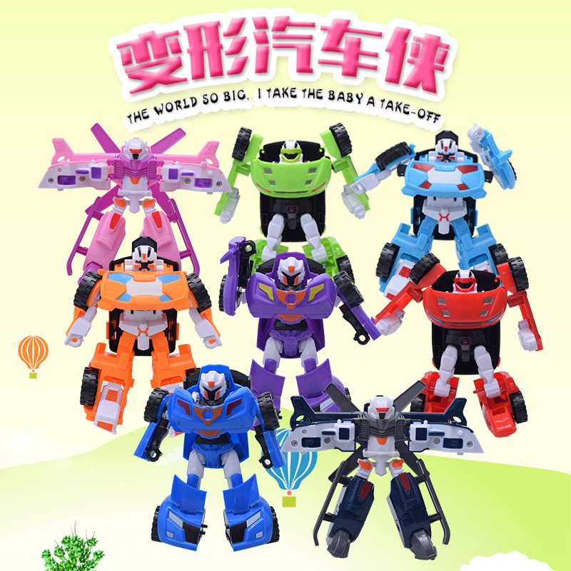 8 styles Young Toys Korea Cartoon Deformation Robot Tobot Brothers Anime Tobot Quartran Toys,Kids Toys Deformation Car Juguetes car transformers deformation robot transformers bumblebee model car toys for children
