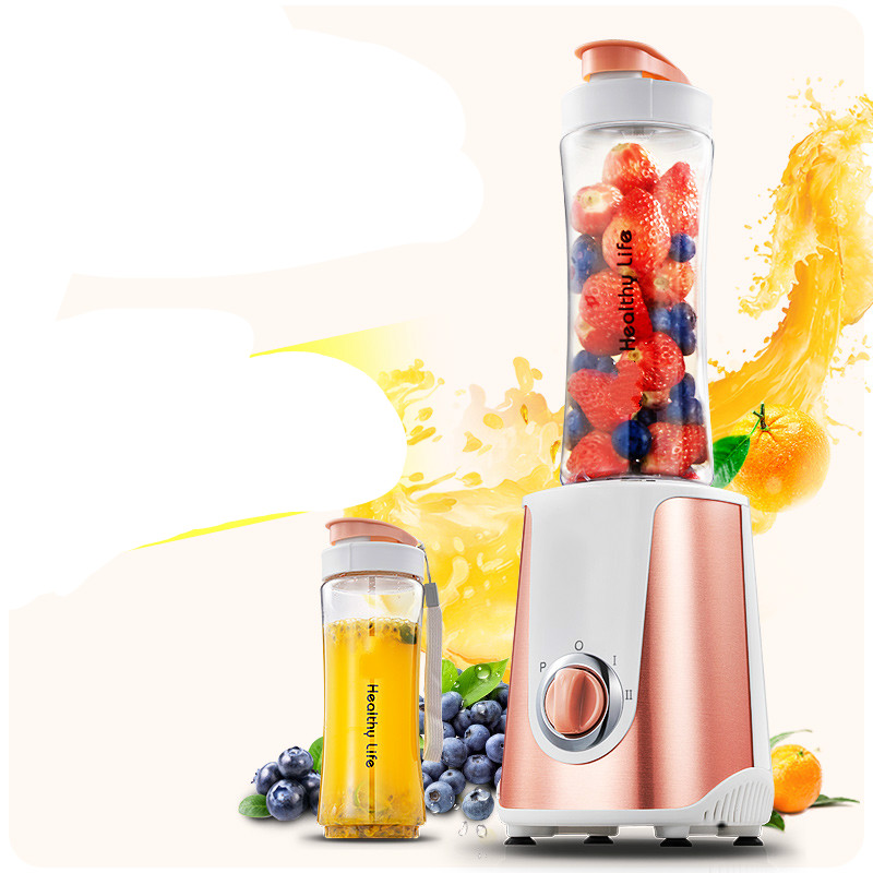 Juicers Portable small juicer for use in a full-automatic fruit and vegetable multi-function mini juicer.