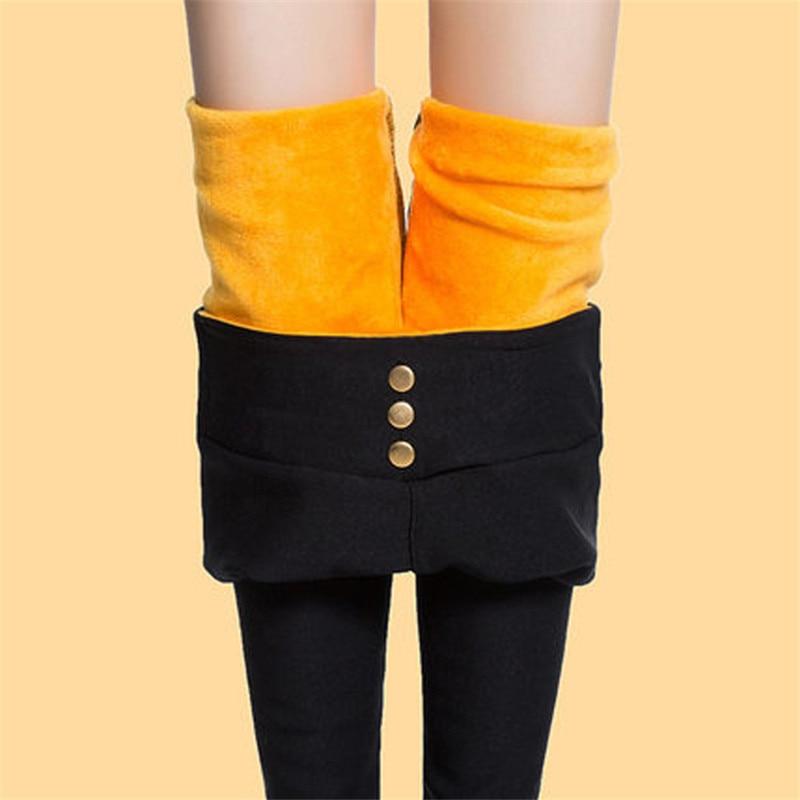 2018 thicken winter autumn women pants streetwear plus size
