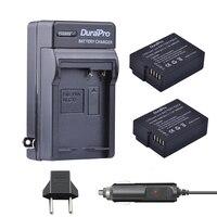 2ピース1400 mah blc12 DMW-BLC12E BLC12 eバッテリー+車の充電器+ euプラグ用パナソニックfz1000、fz200、FZ300、g5、g6、g7、gh2