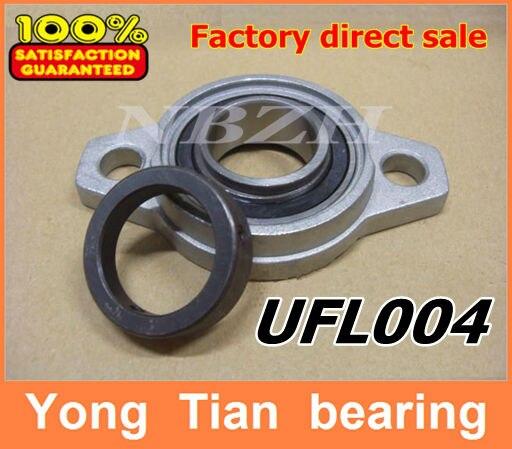 20 mm caliber zinc alloy rhombus bearing housing UFL004 Spherical ball bearing