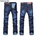 Hot Sale Mens Biker Jeans moda Hombres homme Casual Denim Diseño Recto Azul Ropa Barata China Brand Jeans Men hombre