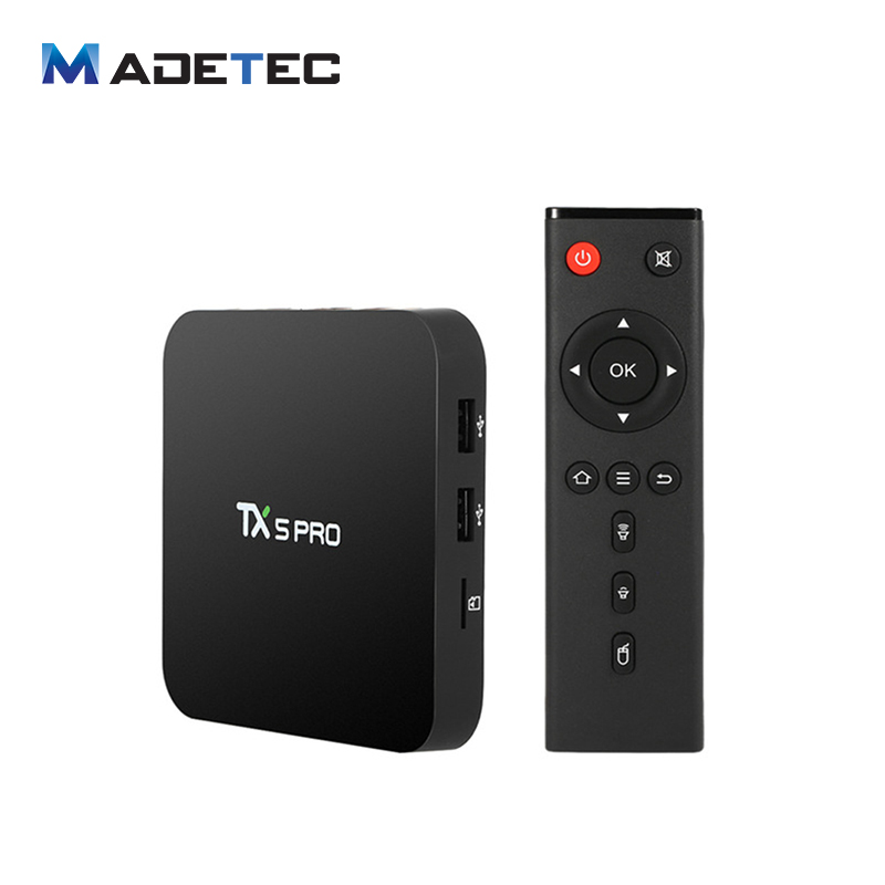 TX5 PRO Android 6.0 TV Box Amlogic S905X Quad Core 2GB/16GB KODI 16.1 XBMC 4K H.265 WiFi Airplay Bluetooth 4.0 Media Player VB72 original m8s android tv box amlogic s812 quad core gpu mali450 2g 8g kodi xbmc media player 2 4g 5g wifi with air mouse keyboard