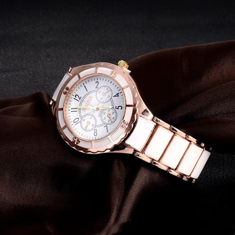 Rose Gold Watch Bracelet Women's Watches Luxury Ladies Watch Women Watches Clock zegarek damski relogio feminino reloj mujer high quality luxury rose gold bracelet watch women lady quartz wrist watch relogio feminino reloj mujer clock