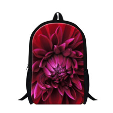 Women Backpacks Flower School Bags for Teenager Girls Laptop Backpacks Bolsas
