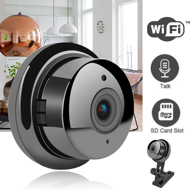 1pc Mini HD 1080P Wireless Wifi Camera 2 8mm Wide Angel Lens Home Security IP Camera Camcorders Monitor Night Vision in Mini Camcorders from Consumer Electronics
