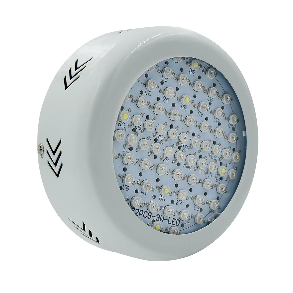 Full Spectrum 216W 72x3W LED Grow Light 85~265V Hydroponics Plant Lamp Ideal for All Phases of Plant Growth and Flowering 216w ufo led grow light 72x3w full spectrum ac85 265v hydroponics plant lamp ideal all phases of plant growth and flowering bj