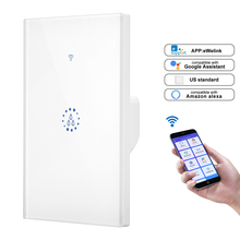 Wifi Boiler Smart Switch Water Heater Switches Voice Remote Control EU/US  PLUG Touch Panel Timer Outdoor work alexa google home