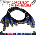 10PCS / 3-PIN DMX signal line, (2M,3M,4M,5M) LED PAR stage lights dmx cable dj equipment 100% new