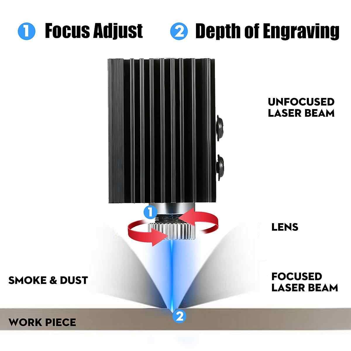 12V 5500 MW 10000 MW Kim Loại Mini CNC Laser Khắc Khắc 2 Trục Ngôi Nhà Mô Để Bàn Gỗ Router /Cắt/Máy In Công Cụ
