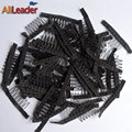 2017 New Arrival Black Color 7Teeth Snap Wig Combs Hair Clips For Extensions 10Pcs Professional Make Wigs Accessory For Wig Caps