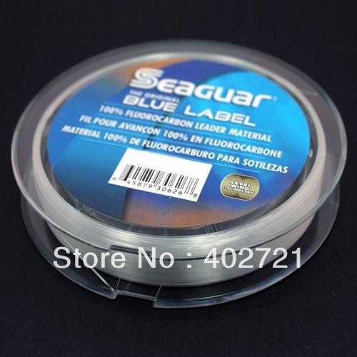 Seaguar Blue Label Fluorocarbon Leader 25 Yard Spool Saltwater Fishing Leader