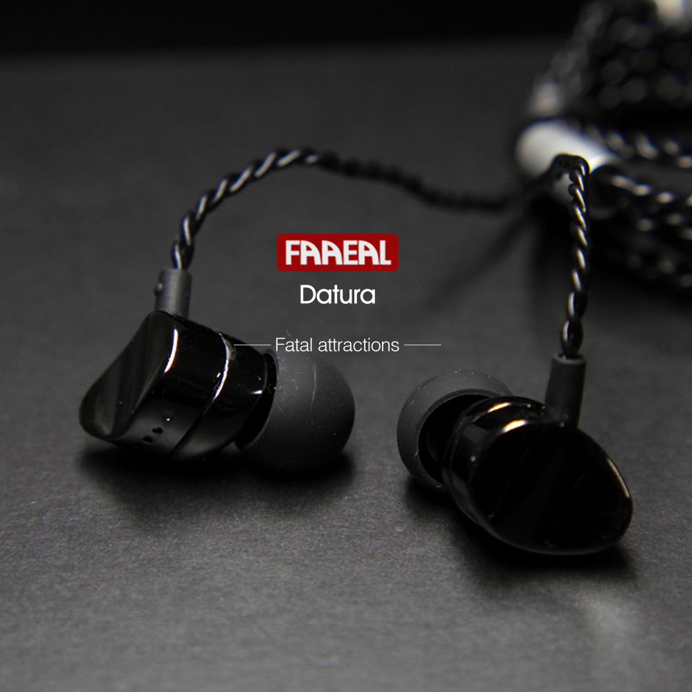 FAAEAL Datura Metal Earphones In Ear Audio Monitors Noise Isolating HiFi Music Sports