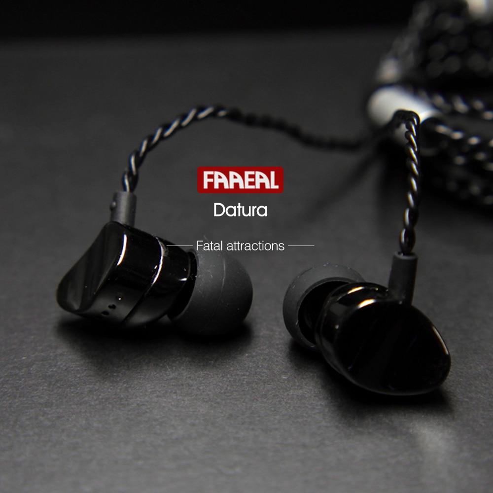 Newest FAAEAL Datura Metal Earphones In-Ear Super Heavy Bass Sound Quality Music  Earphone HIFI Sport Running Stereo Earbuds