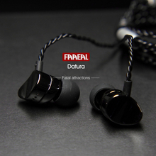 Buy online Newest FAAEAL Datura Metal Earphones In-Ear Super Heavy Bass Sound Quality Music Earphone HIFI Sport Running Stereo Earbuds