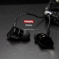Newest FAAEAL Datura Metal Earphones In Ear Super Heavy Bass Sound Quality Music Earphone HIFI Sport