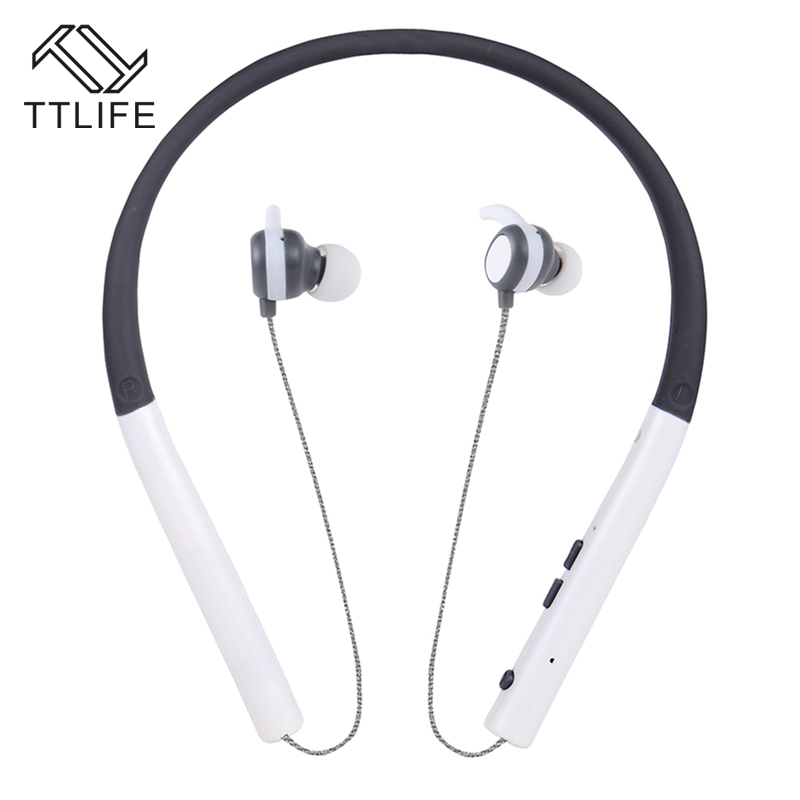 TTLIFE Bluetooth 4.1 Headset Neckband Headphones with Microphone Sport Earphone Wireless Headphone for IPhone Android Phone remax rb s6 wireless bluetooth earphone headphones with microphone sport stereo bluetooth headset for iphone android phone