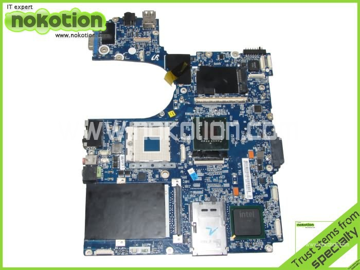 NOKOTION BA92-04595A For Samsung P55 Laptop motherboard Intel PM965 with Graphics slot drr2 Full tested nokotion sps v000198120 for toshiba satellite a500 a505 motherboard intel gm45 ddr2 6050a2323101 mb a01