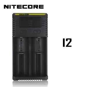 Image 4 - Nitecore i8 جديد i4 i2 شاحن ذكي 8 فتحات إجمالي 4A الناتج الشواحن الذكية ل ليثيوم أيون 18650 16340 10440 AA AAA 14500 26650