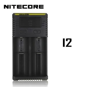 Image 4 - Интеллектуальное зарядное устройство Nitecore i8, i4, i2, 8 слотов, выход 4A, умное зарядное устройство для Li Ion 18650, 16340, 10440, AA, AAA, 14500, 26650