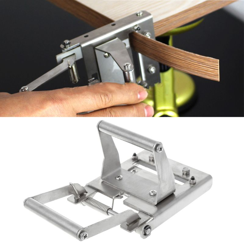 Manual Edge Banding Machine Trimmer End Cutting Device Straight Trimming Carpenter Hardware Tool japan alloy steel trimming knife woodworking tool pvc trimming knife specialty edge banding trimmer