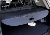 רכב אחורי Trunk אבטחת חומת צל מטען כיסוי עבור BMW X5 E53 2002 2003 2004 2005 2006 (שחור בז')-במשענות יד מתוך רכבים ואופנועים באתר