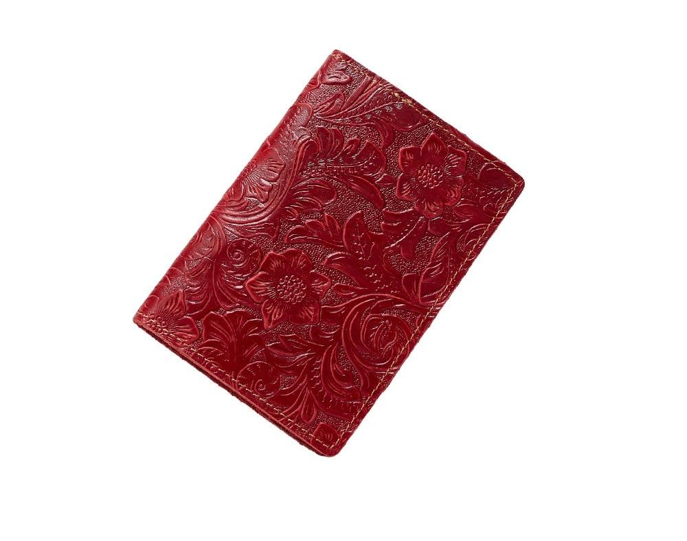 K018-- Luxury Genuine Leather Passport Holder Wallet_01 (25)